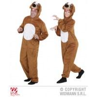 Unisex Mens Ladies Plush Dog Costume Outfit for Animal K9 ...