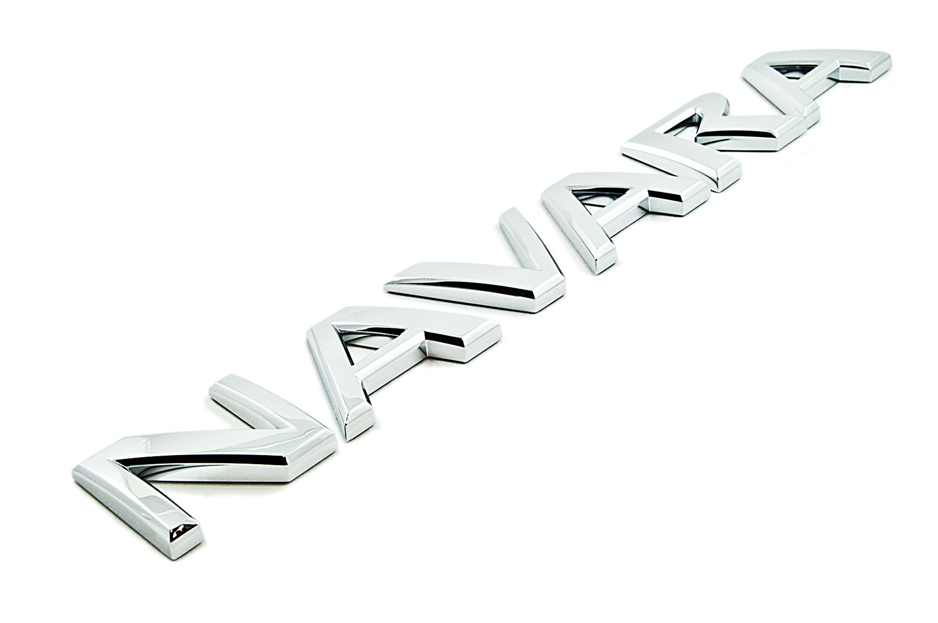 Nissan Genuine Navara Chrome Badge Emblem For Rear Back
