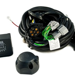 nissan genuine 7 pin electrical kit wiring for towbar hitch details about nissan genuine 7 pin [ 1900 x 1262 Pixel ]