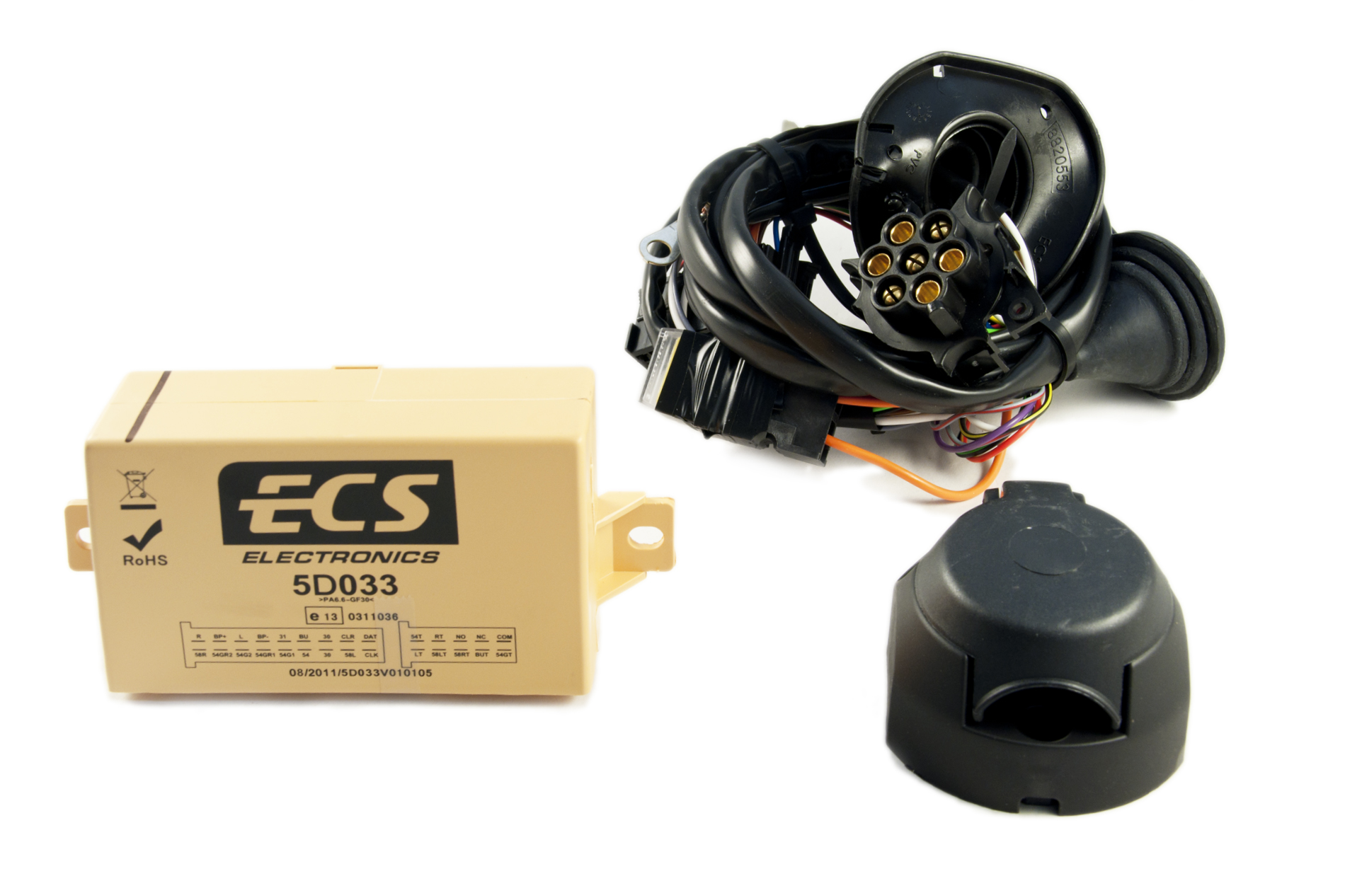 Pin Electrical Kit Wiring For Tow Bar Towbar Hitch Ke505jd113 Ebay