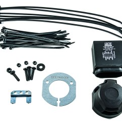 13 Pin Towbar Wiring Diagram Uk Kenwood Deck Nissan Navara Genuine Electrical Kit For Tow Bar