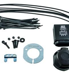 nissan genuine navara electrical kit wiring for towbar hitch 13pin ke505ebn13ab ebay [ 1900 x 1262 Pixel ]