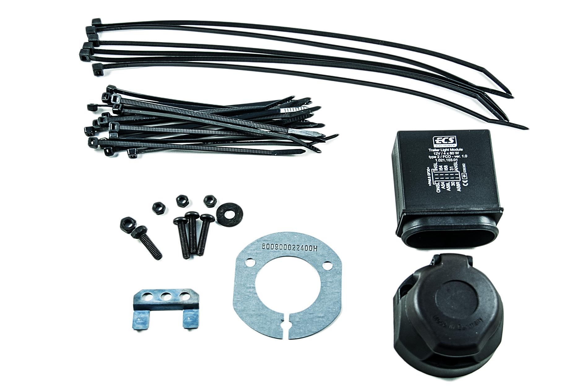 hight resolution of nissan genuine navara electrical kit wiring for towbar hitch 13pin ke505ebn13ab ebay