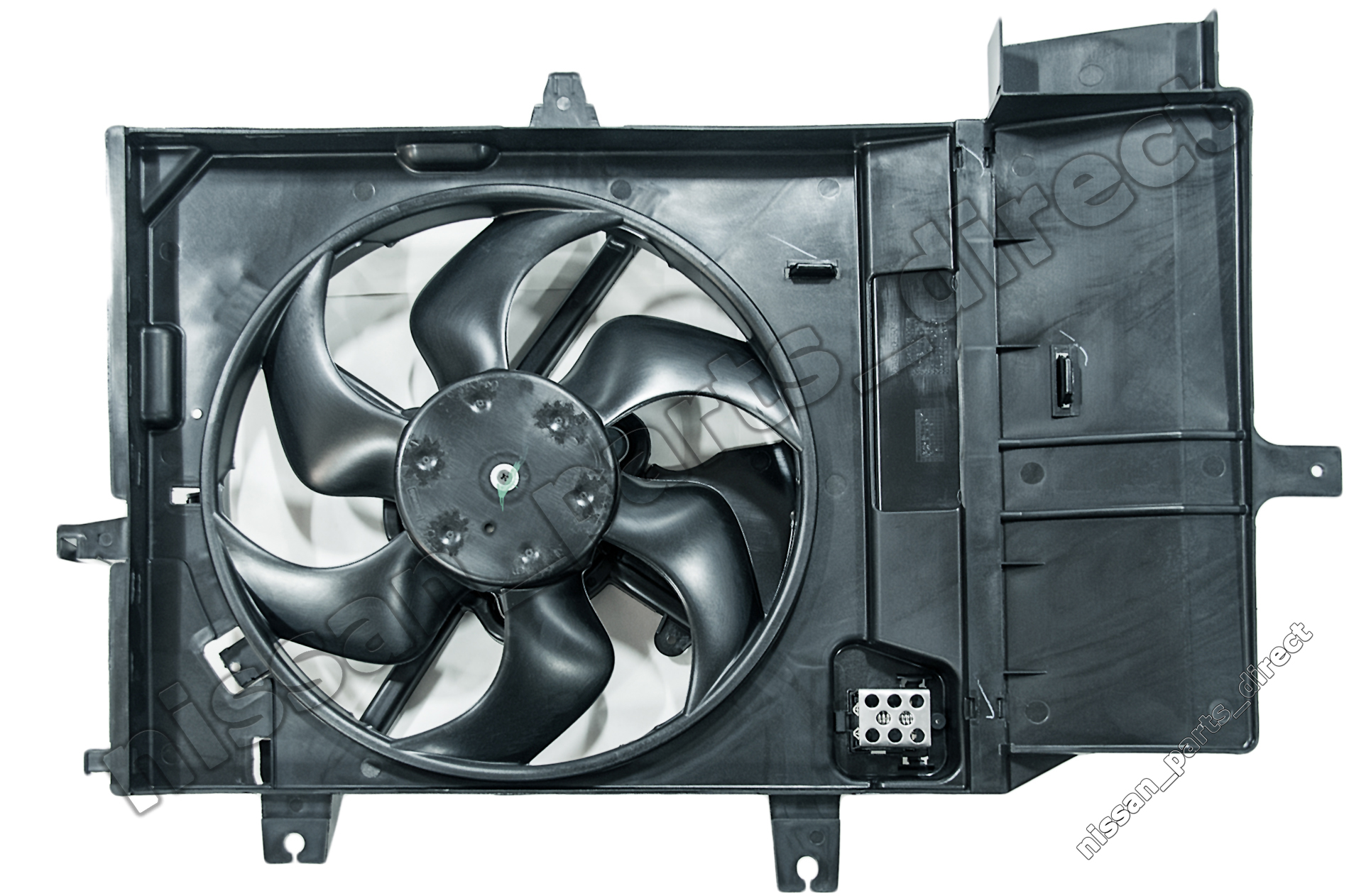 hight resolution of nissan genuine micra k12 engine cooling system radiator motor and fan 21481ax800 ebay