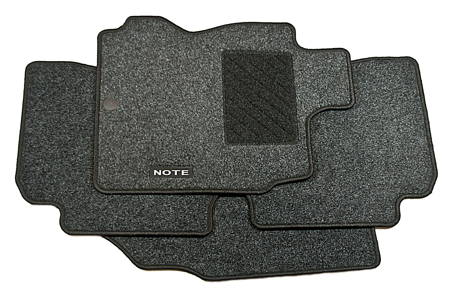 Nissan Note Genuine Car Floor Mats Tailored Textile Front