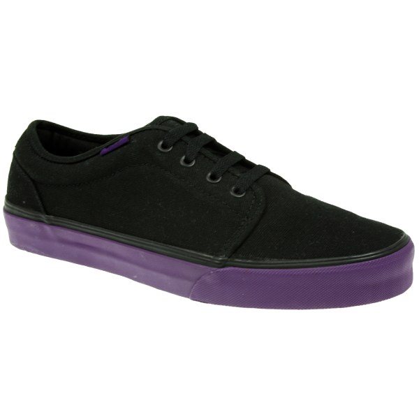 Rare Vans 106 Vulcanised Unisex Black Purple Skate