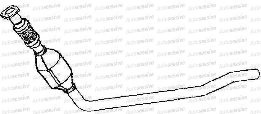 Chrysler Grand Voyager 2.8Crd Mpv 05-08 Exhaust Front Pipe
