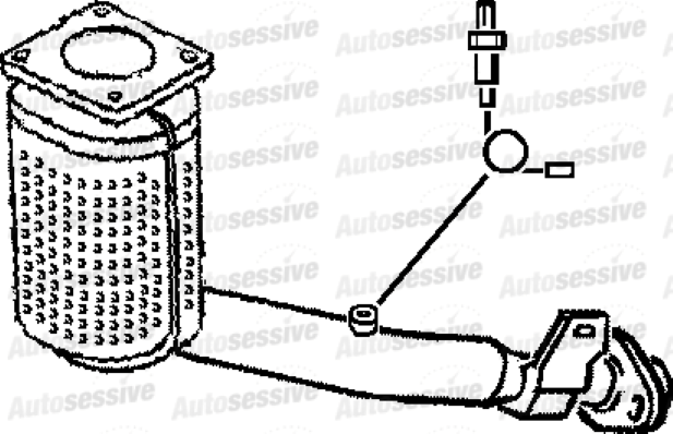 Peugeot 206Cc 1.6 Nfu Manual 4 Coupe 01-05 Exhaust