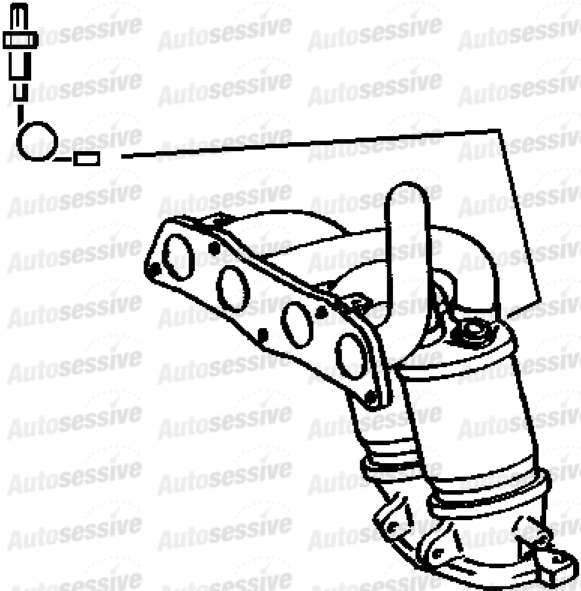 Toyota Mr2 1.8 Vti 1Zzfe Manual Cabrio 02-06 Exhaust