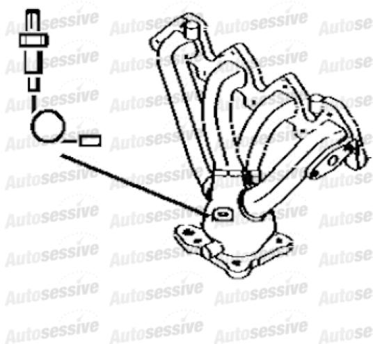 Peugeot 307 1.6 Nfu Manual 4 Est Be4R Gearbox 06- Exhaust