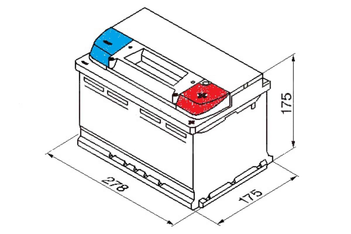 Yuasa Car Battery 760CCA Replacement For Citroen C4 Grand