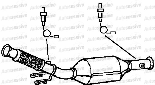 Peugeot 206 2.0 Gti Rfn Ew10J4 Hatch 03- Exhaust Catalytic