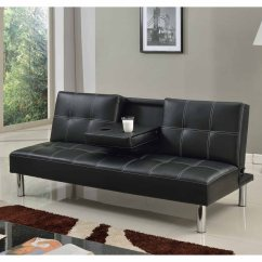 Fold Down Sofa Beds Uk Childrens Foam Cinemo 3 Seater Bed Faux Leather W Table