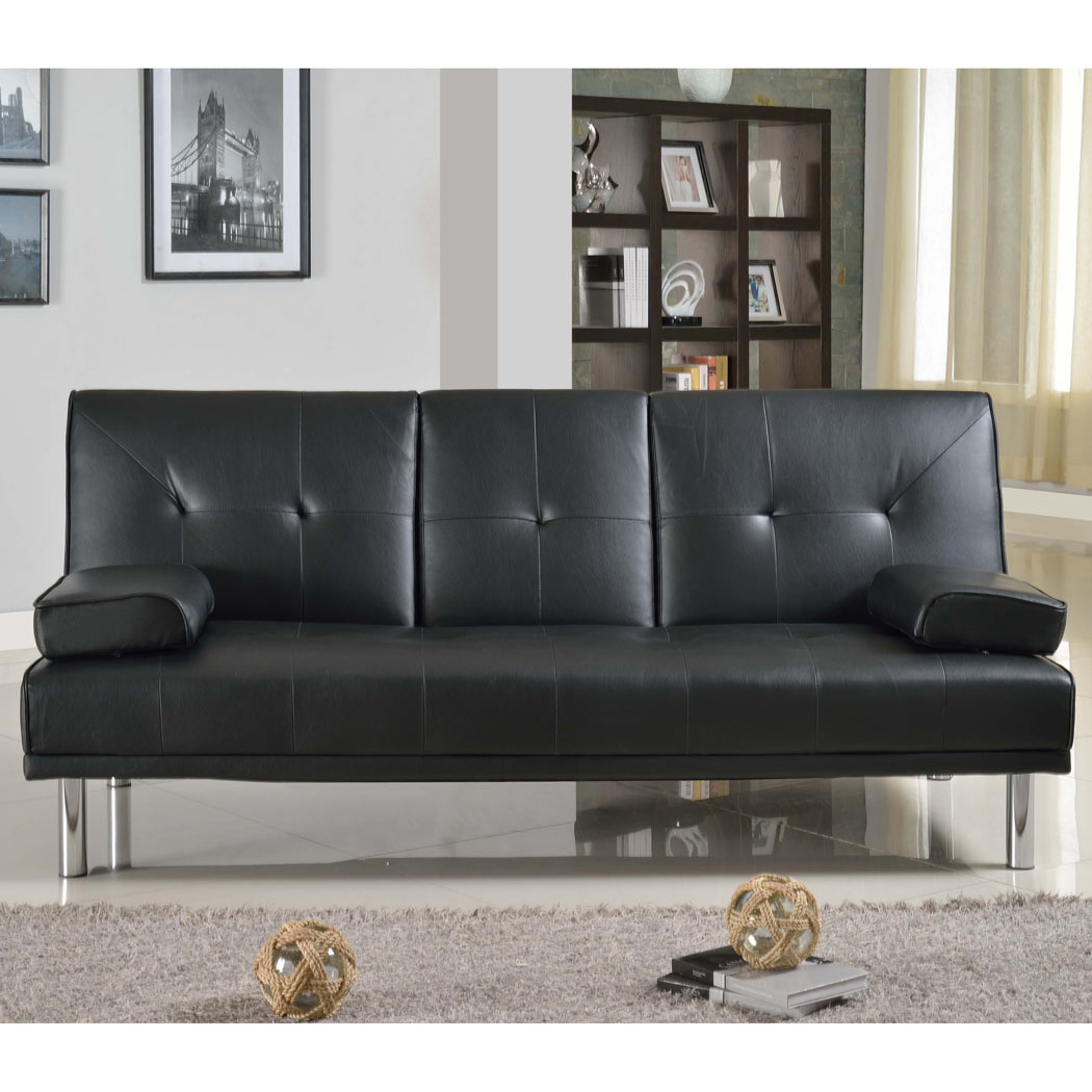 fold down sofa beds uk metal action bed with storage rome 3 seater faux leather w table