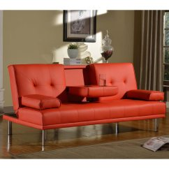 Fold Down Sofa Beds Uk Customize Your Own Sectional Rome 3 Seater Bed Faux Leather W Table