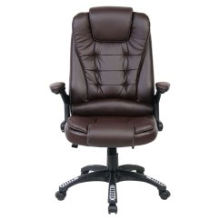 Desk Recliner Chair Best Bathtub For Elderly Rio Brown Luxury Reclining Executive Office