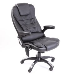 Recliner Office Chair Nz Revolving Base In Ahmedabad Rio Leather Reclining W 6 Point Massage High