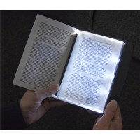 3 Super Bright LED Slim Page Reading Light Night Book Lamp