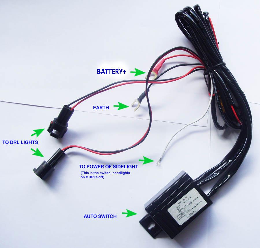Automotive Ktm Headlight Wiring On Wiring For Daytime Running Lights