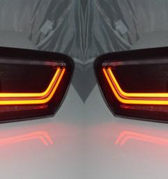sentinel back rear tail lights audi a6 c7 saloon 04 11 10  [ 4000 x 1145 Pixel ]