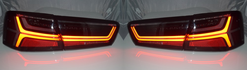 medium resolution of sentinel back rear tail lights audi a6 c7 saloon 04 11 10