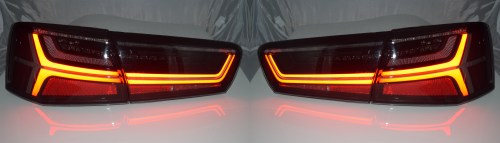 small resolution of sentinel back rear tail lights audi a6 c7 saloon 04 11 10