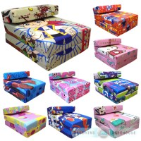 Children's TV Character Fold Out Z Bed Foam Chair Futon ...