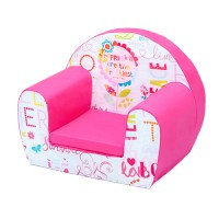 Kids Children's Comfy Soft Foam Chair Toddlers Armchair ...
