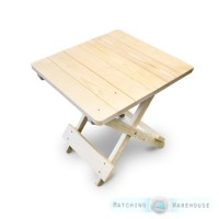 Side Table Small Wooden Snack Folding Outdoor Garden Patio ...