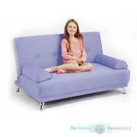 Childrens Cotton Twill Clic Clac Sofa Bed with Armrests ...