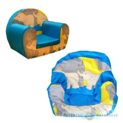 Comfy Chairs For Toddlers Office Chair Best Kids Children's Soft Foam Cover Only Armchair Seat Sofa | Ebay