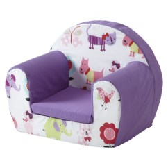 Sofa Chair For Baby Girl Couch Sale Cute Pets Purple Childrens Kids Comfy Foam Toddlers Armchair Details About Seat Girls Se