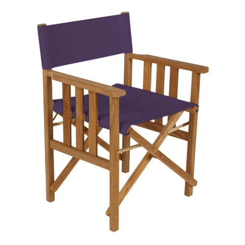 Purple Director Chairs Replacement Water Resistant Canvas