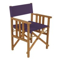 Purple Director Chairs Replacement Water Resistant Canvas ...