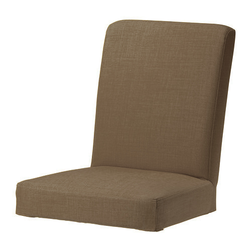 ikea chair covers henriksdal ebay resin wicker rocking sable skiftebo personnalisé remplacement dérapant housse pour |