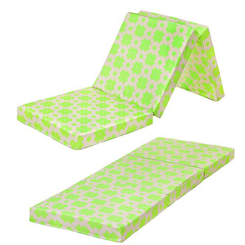 Designer Prints Foldable Foam Mattress Z Bed Fold