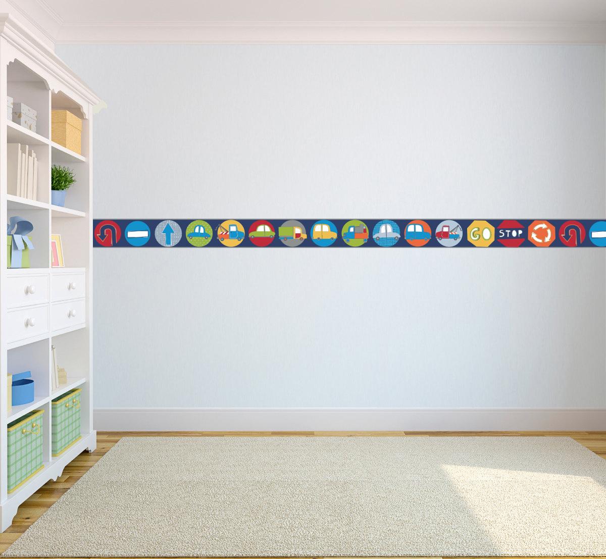 Wallpaper Borders Childrens Kids Nursery Boys Girls