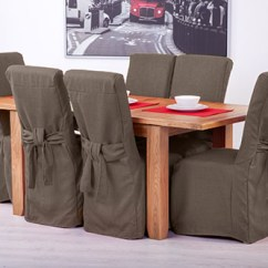 Cotton Dining Chair Covers Uk Graco Blossom High Winslet Set Of 4 Slate Grey Fabric For Scroll Top Back Leather 5055889372057 | Ebay