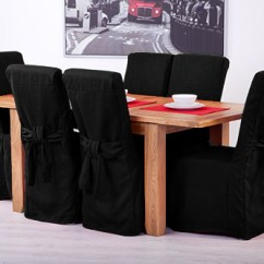 Chair Covers Leather Home Depot Stacking Fabric Slipcovers For Scroll Top High Back Oak Dining Chairs