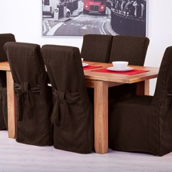 Ikea Chair Covers Henriksdal Ebay Big Camping Fabric Slipcovers For Scroll Top High Back Leather Oak Dining Chairs Seat |