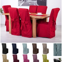Black Chair Covers Ebay Walmart Dining Room Chairs Fabric Slipcovers For Scroll Top High Back Leather Oak Seat