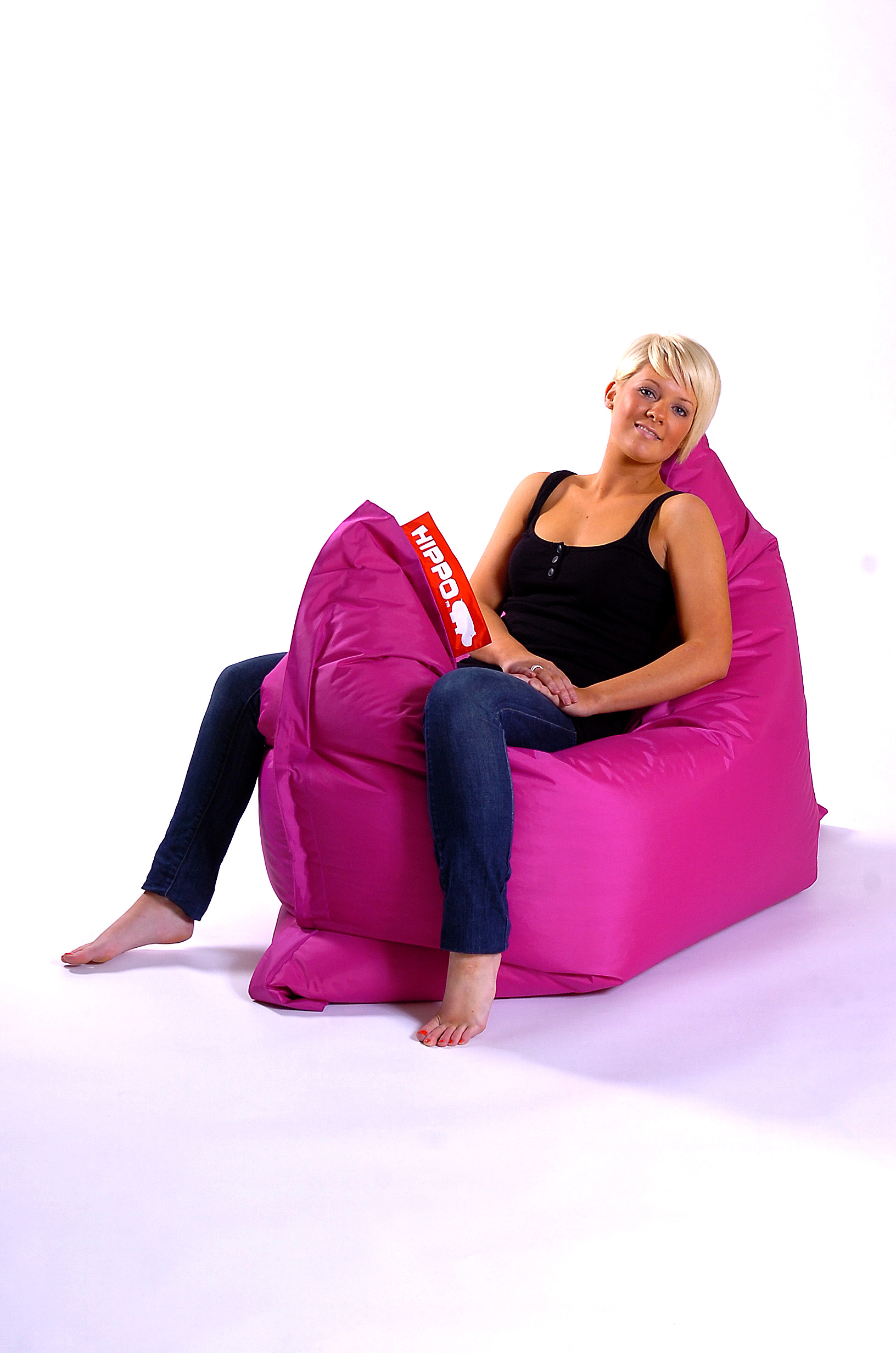 Adult Beanbag Chair Pink Hippo Xxl Adult Bean Bag Water Resistant Beanbag