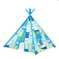 Large Children's Fabric Play Tent Teepee Wigwam Garden ...