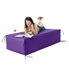 Foam Block Sofa Bed Blanket Purple Large Waterproof Garden Soft Seating