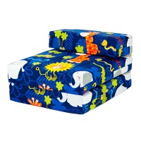Kids Character Foam Fold Out Sleep Over Guest Single Futon ...