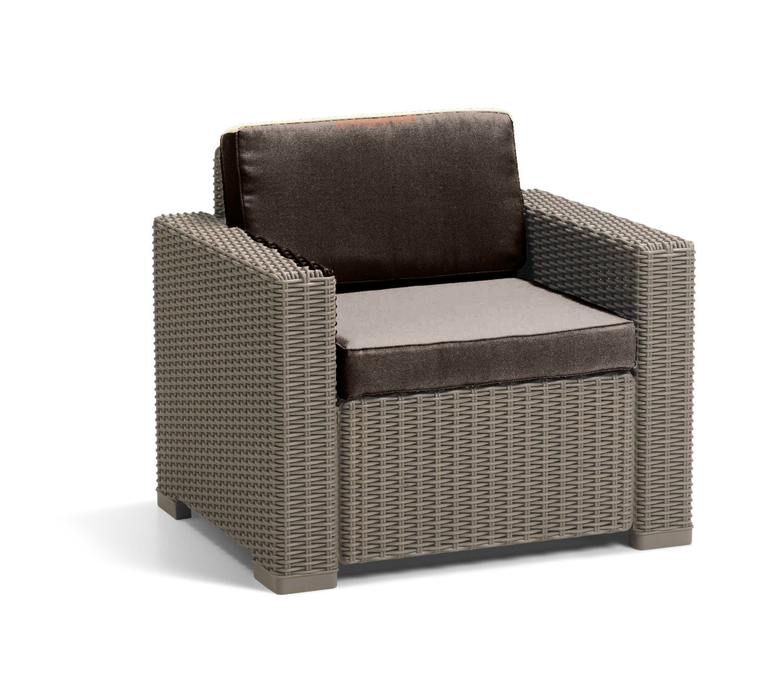 wicker chair cushions with ties flipping high upside down cushion pads for keter allibert california rattan garden