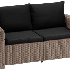 Cushion Pads For Sofas Jessica Sofa Bed Keter Allibert California Rattan Garden
