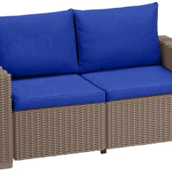 Replacement Garden Sofa Cushions Couch Or Cushion Pads For Keter Allibert California Rattan