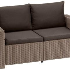 Sofa Pads Uk Crazy Water Sports Cushion For Keter Allibert California Rattan Garden