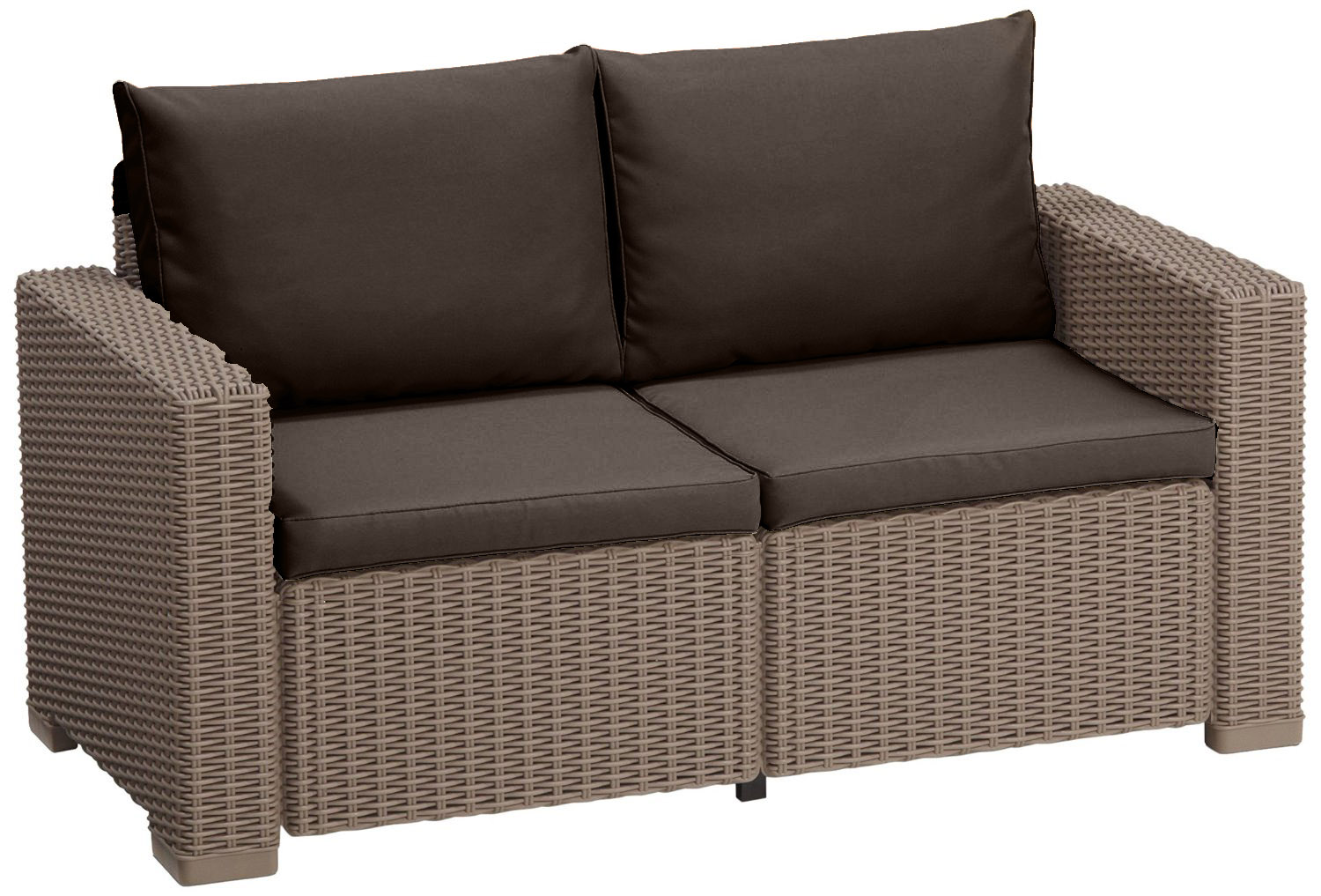 wicker chair cushions with ties swing vancouver cushion pads for keter allibert california rattan garden